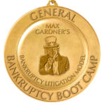 Bankruptcy Boot Camp Medal